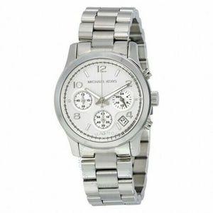 MICHAEL KORS MK5067 Silver Midsized #215